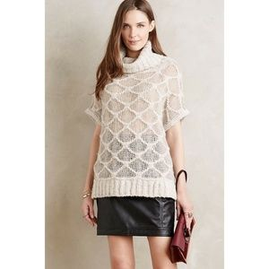 New Anthropologie Honeycomb Pullover Sweater Sz S
